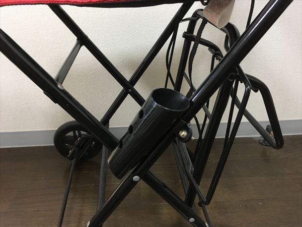 自転車用の傘立て